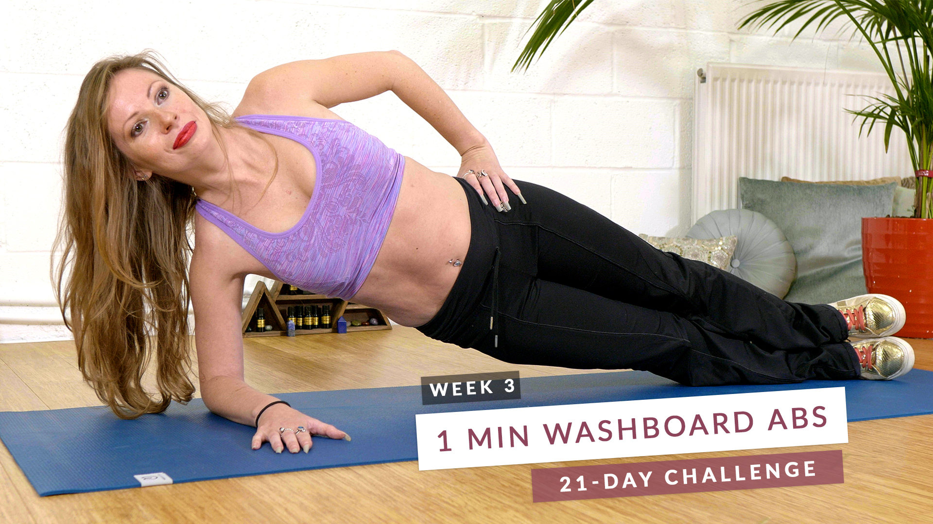 1 Min Washboard ABS | 21 Day Challenge | Week 3 at Little Egypt Studio