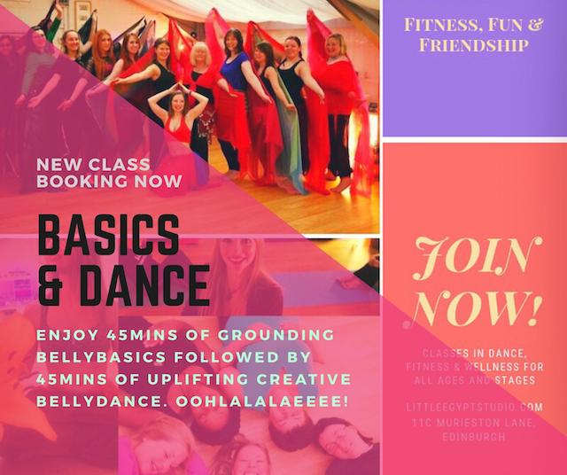 Belly Basics & Dance 90min